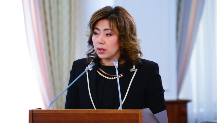 Madina Abylkassymova. primeminister.kz