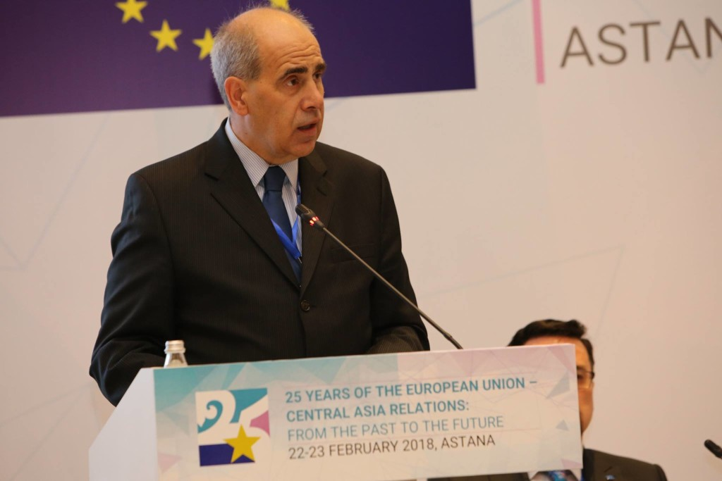 Peter Burian. Photo credit: European Union Delegation in Kazakhstan press service