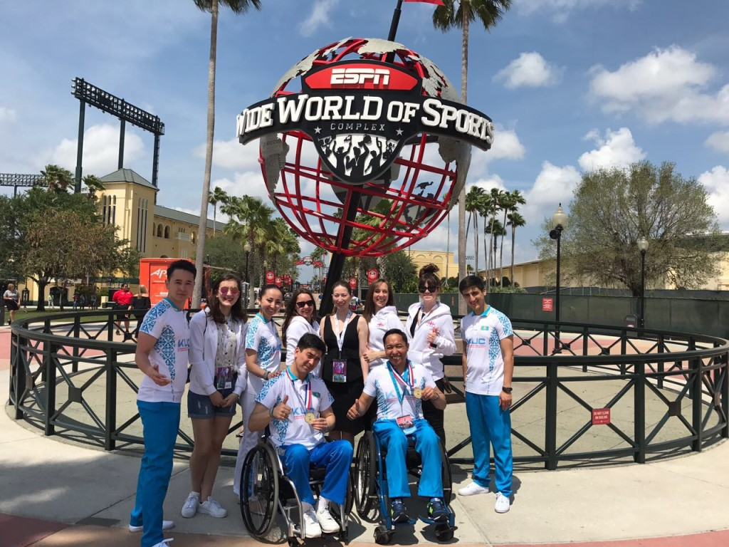 Cheerleading and Cheer Sport team at the World Championship 2017, Orlando.