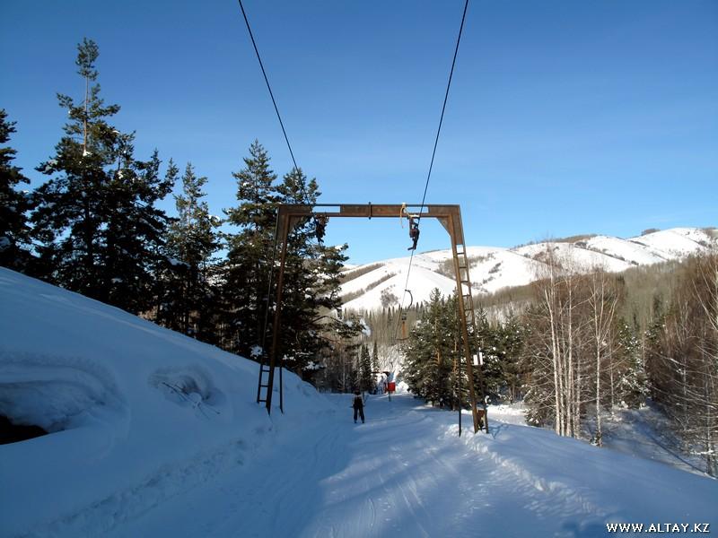 Altay Alps ski resort. Photo credit: alps.altay.kz