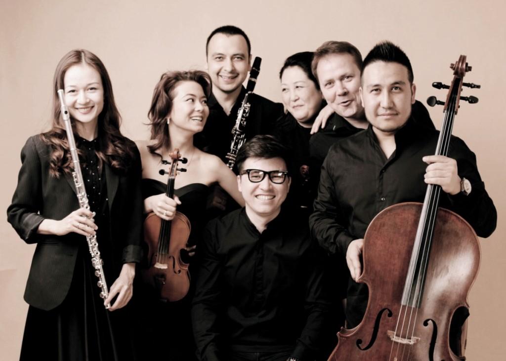 Photo credit: Kurmangazy Kazakh National conservatory. Eegeru Kazakh ensemble.