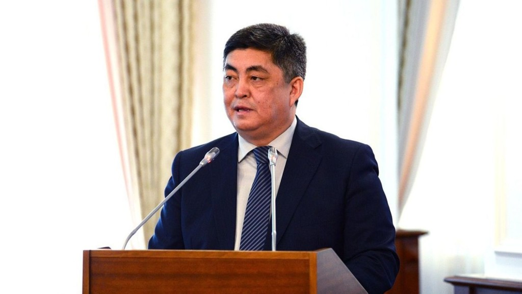 Sayan Akhmetzhanov. Photo credit: primeminister.kz.