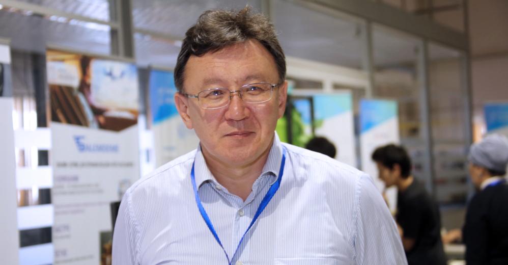 Aidar Zhakupov. Photo credit: NURIS press service.