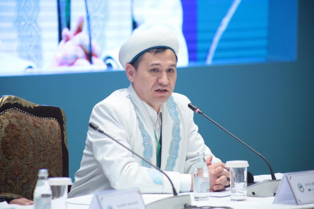 Alau Adilbayev. Photo credit: muftyat.kz.