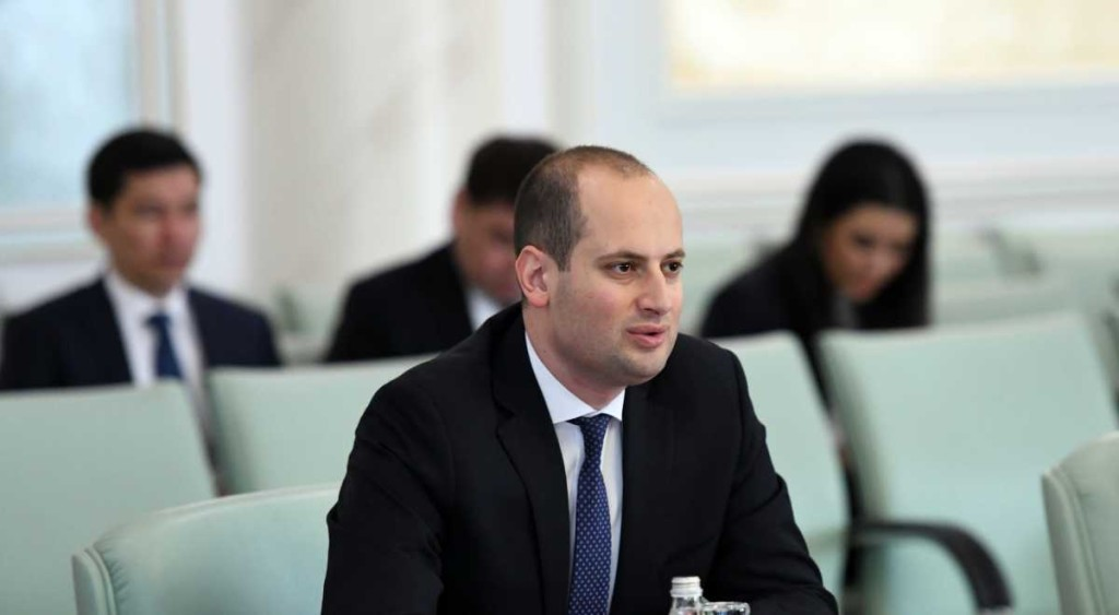 Georgian Deputy Prime Minister and Foreign Minister Mikheil Janelidze.