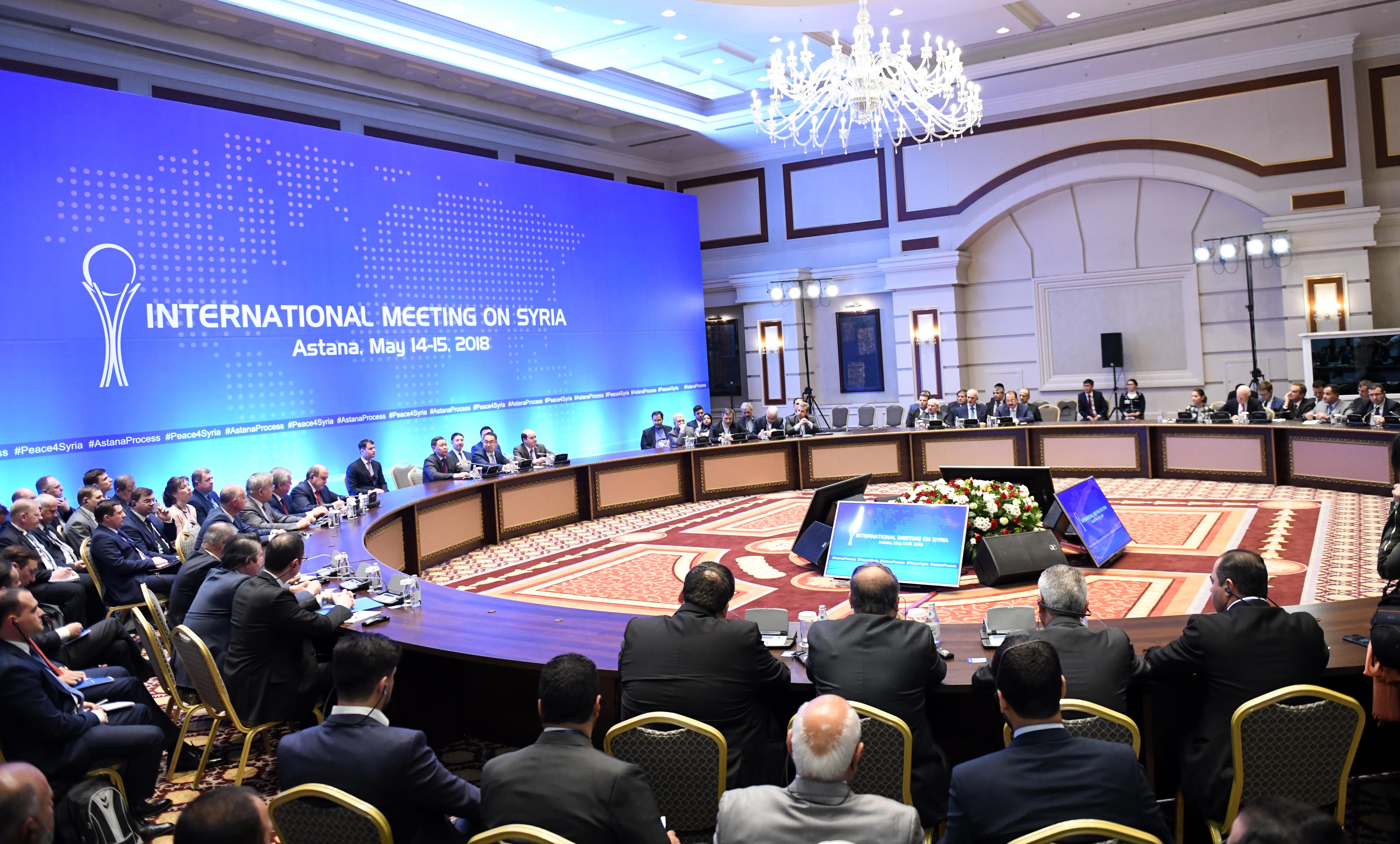 Ninth Round Of Astana Process Syrian Peace Talks Reaffirm Previous