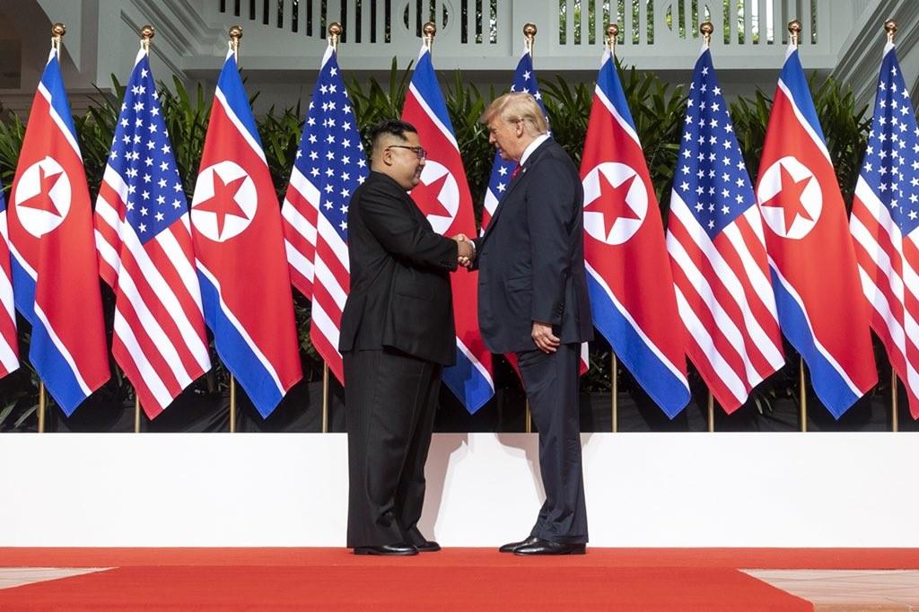 Photo credits: Twitter Donald J. Trump .
