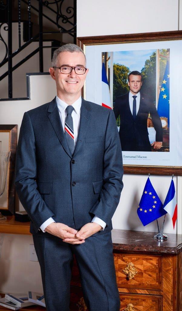 French Ambassador to Kazakhstan Philippe Martinet.