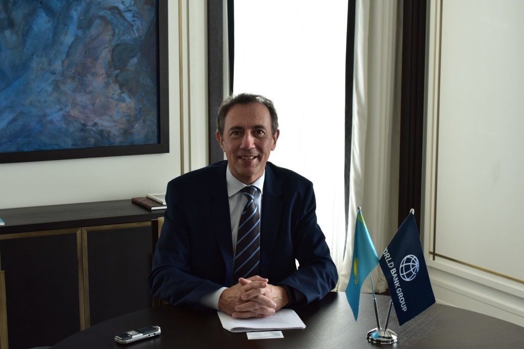 World Bank's Vice President for Europe and Central Asia Cyril Muller.