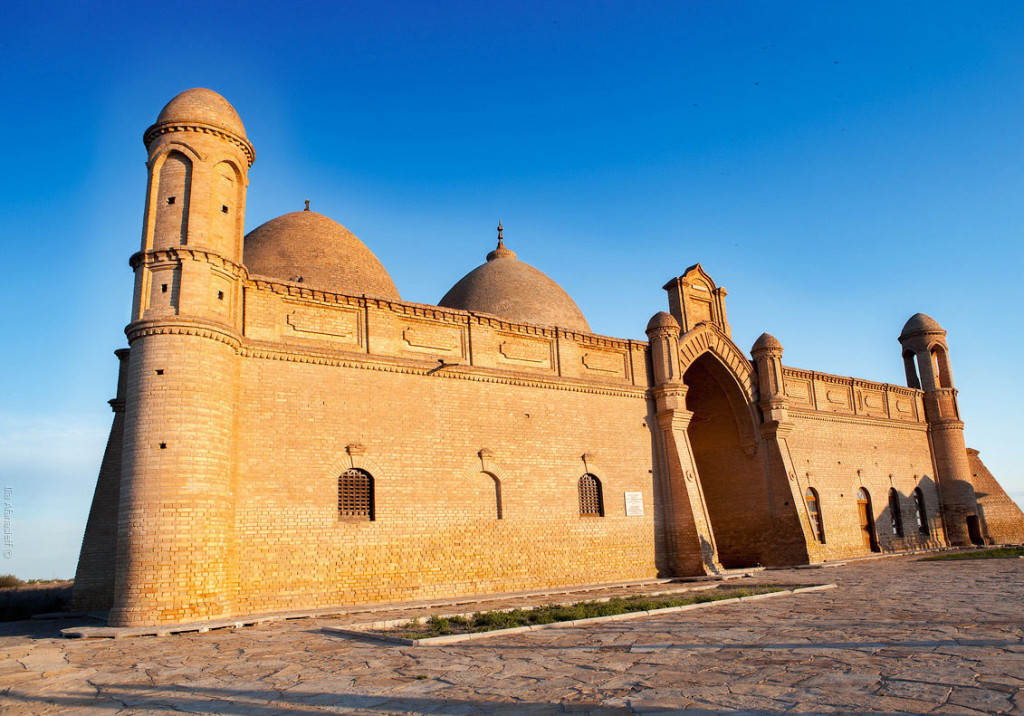 Arystan Bab mausoleum in Turkestan region