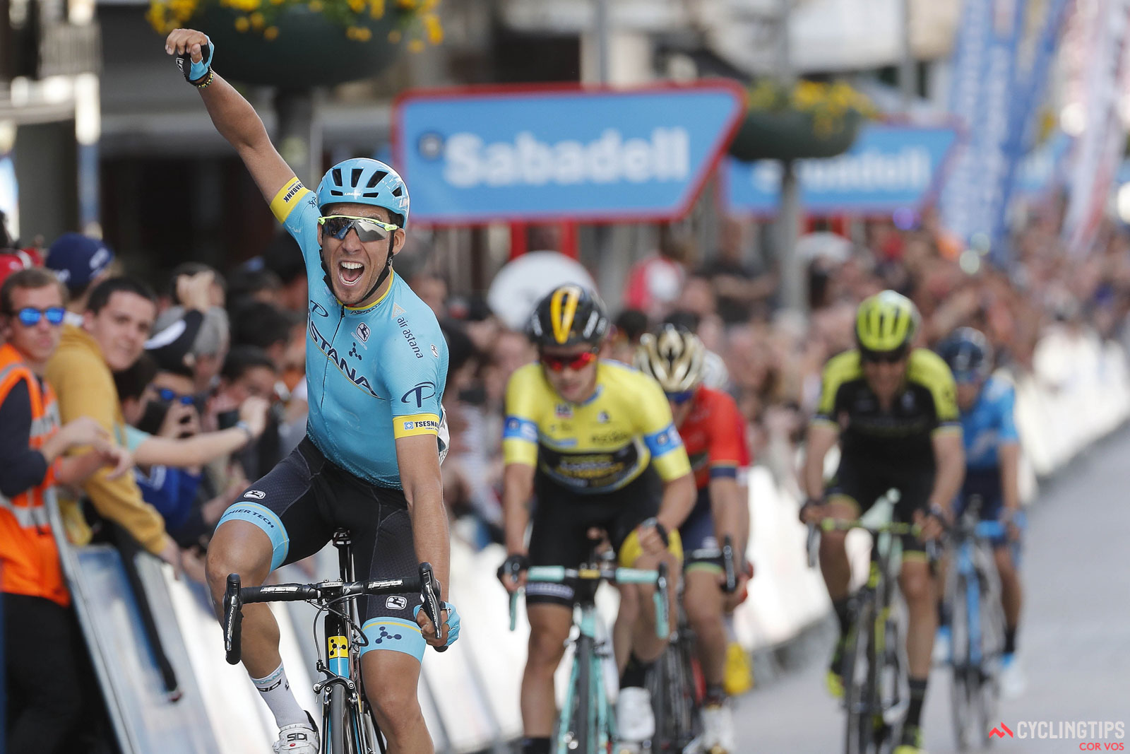ASTANA – Astana Pro Team s Spanish cyclist Omar Fraile won the 14th stage  of the Tour de France. He was the first to finish the 188-km stage between  ... a425bdca1