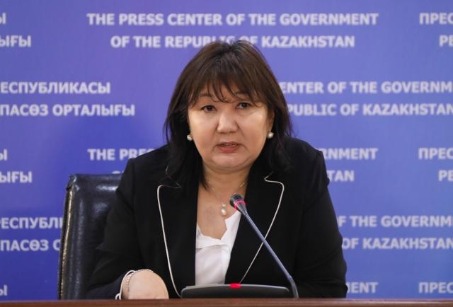 Gulmira Issayeva.