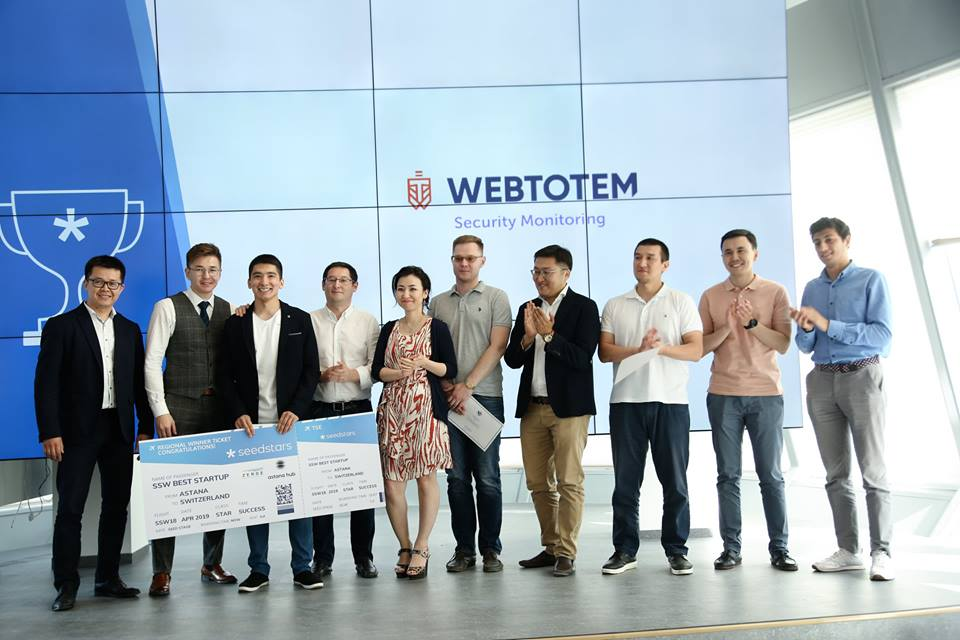 -Local winner WebTotem at Seedstars Astana