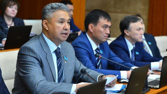 Majilis deputy Azat Peruashev