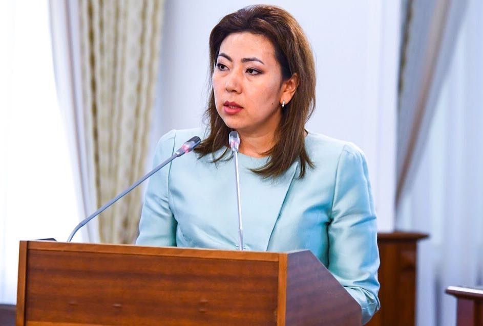 Minister of Labour and Social Protection Madina Abylkassymova. Photo credit: primeminister.kz.