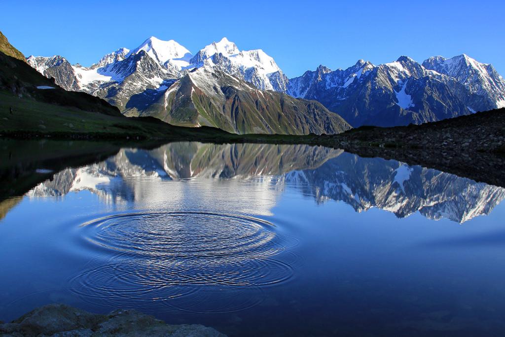 The Ice Mountain.
