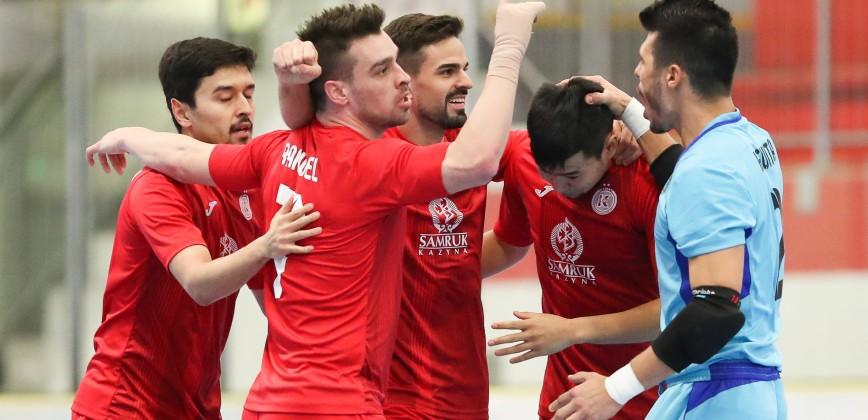 9307ba9a4b FC Kairat reaches UEFA Futsal Champions League final for ninth time ...