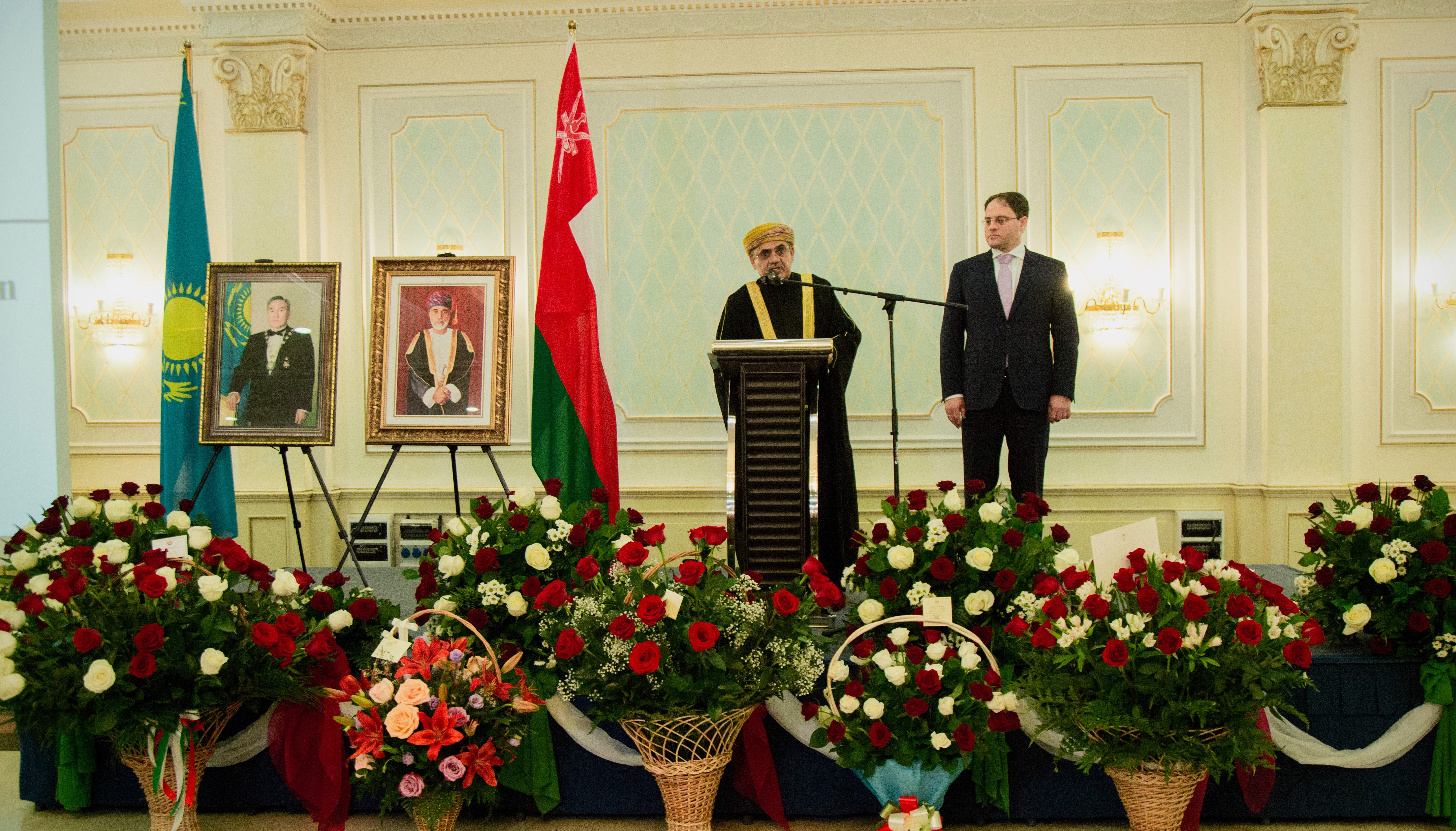 Growing bilateral relationship noted at celebration of Omani