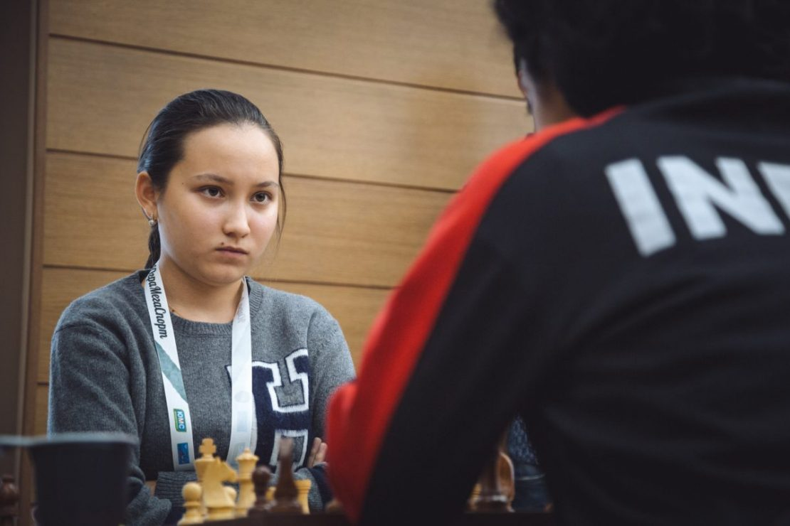Kazakh woman among eight best players at 2018 World Chess