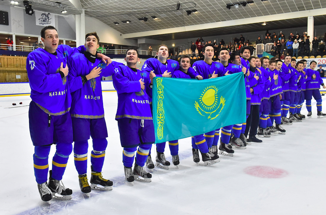 Kazakh Junior Hockey Team Prepares For Group Stage Of 2019 World