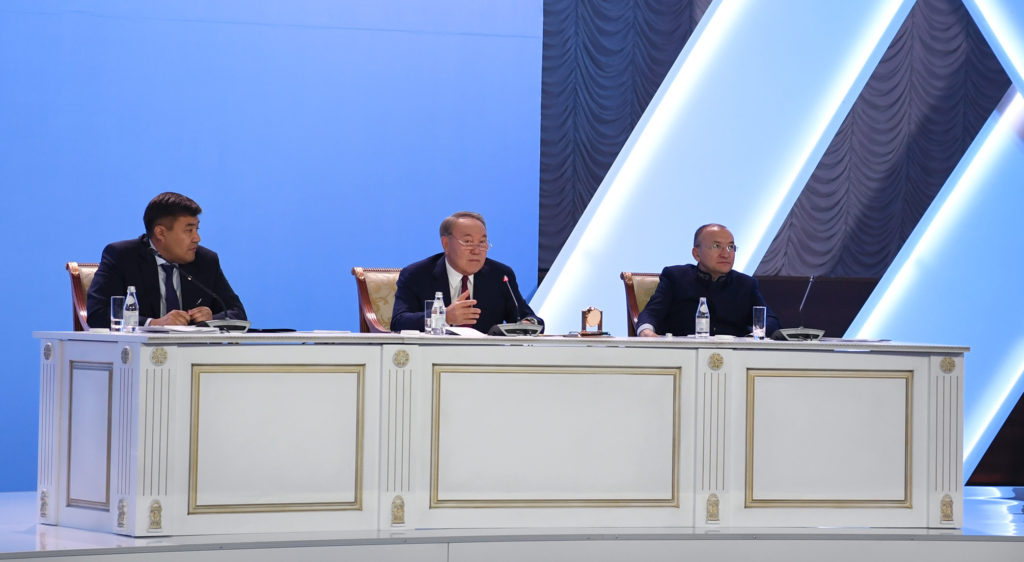 Kazakh President urges larger role for NGOs in Kazakh society
