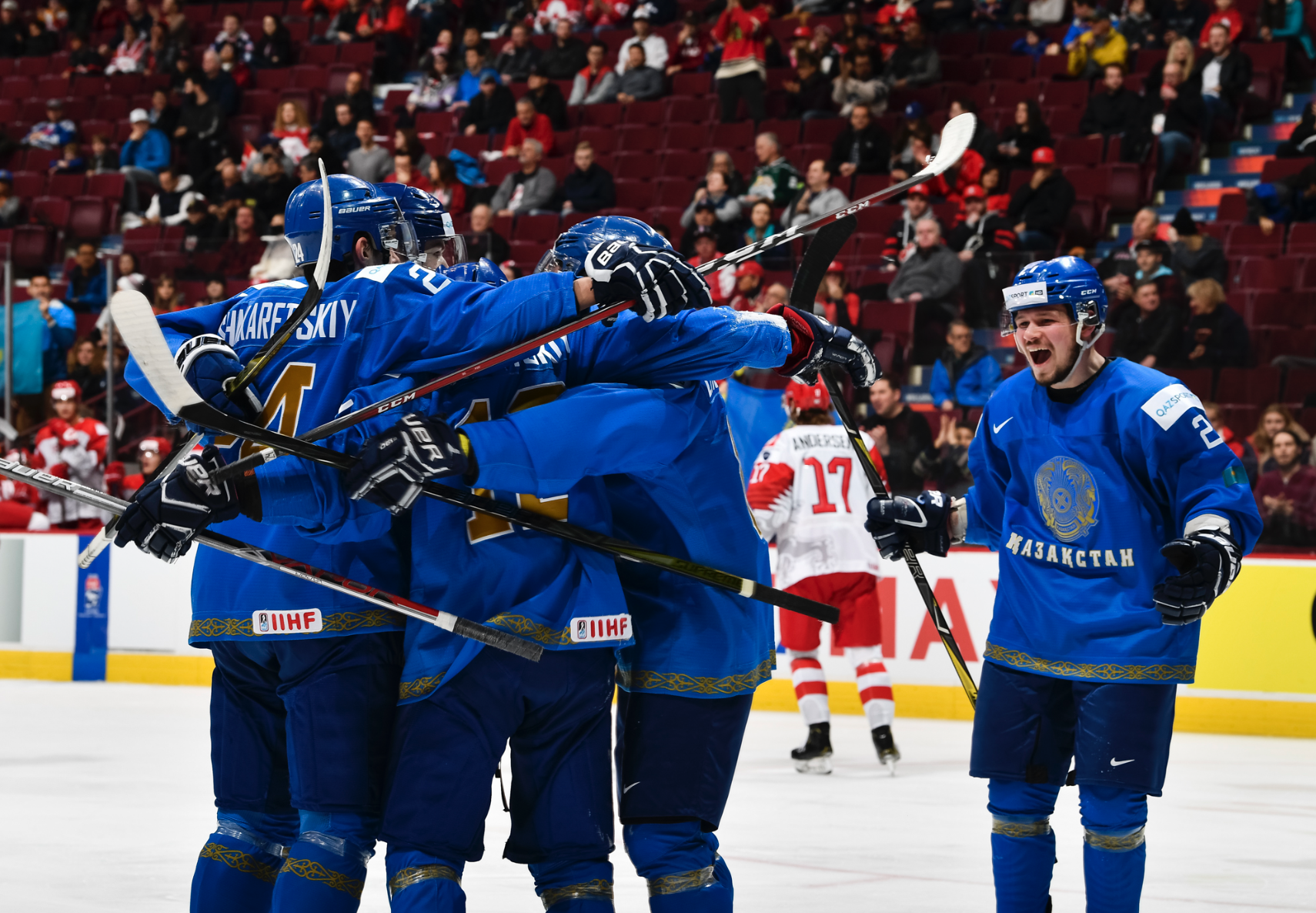 Kazakh Junior Hockey Team Wins Hearts At World Juniors