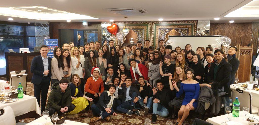 CASA members at the New Year Party event min 1024x496 - Некоммерческая способствует среднеазиатской культуры в Южной Корее