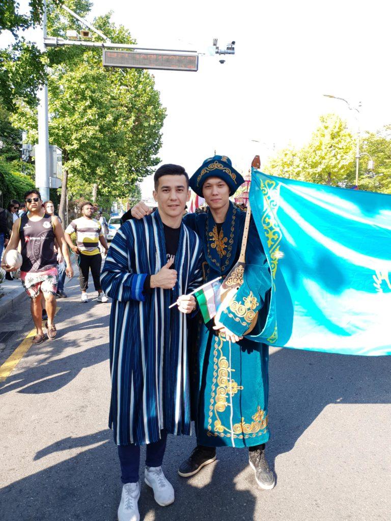 Mansur Babajanov L min 768x1024 - Некоммерческая способствует среднеазиатской культуры в Южной Корее