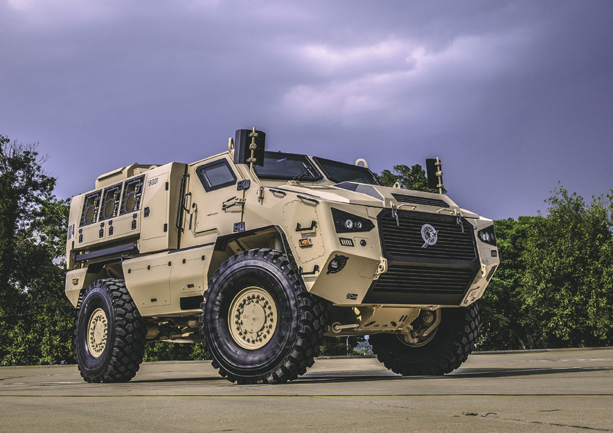 Paramount Group provides UAE with next generation of armoured ...