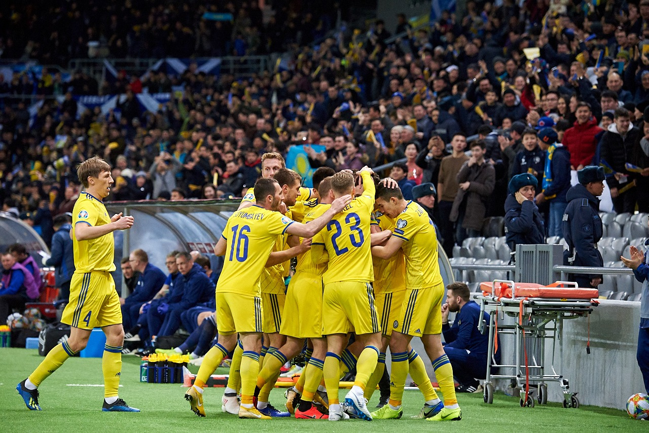 c7857fcf8c2 Kazakhstan ranks fourth in UEFA Euro 2020 qualifying Group I after first  round