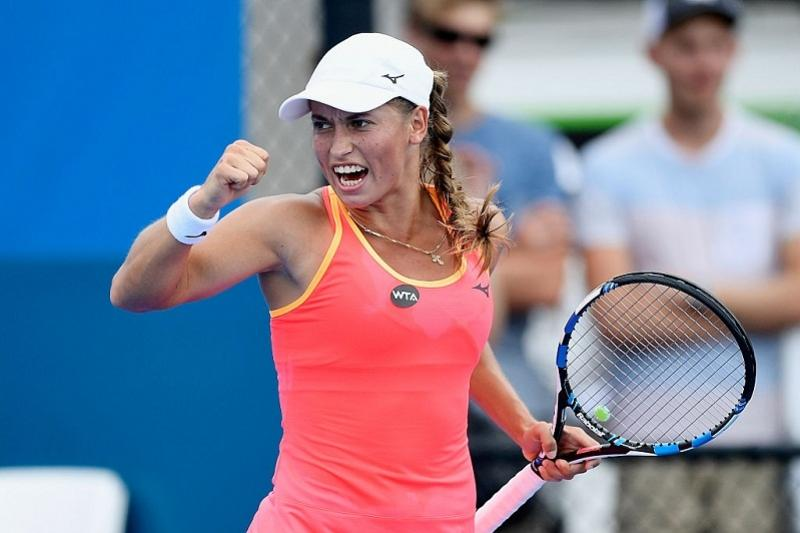 Kazakh tennis player Yulia Putintseva beats world No. 1 ...