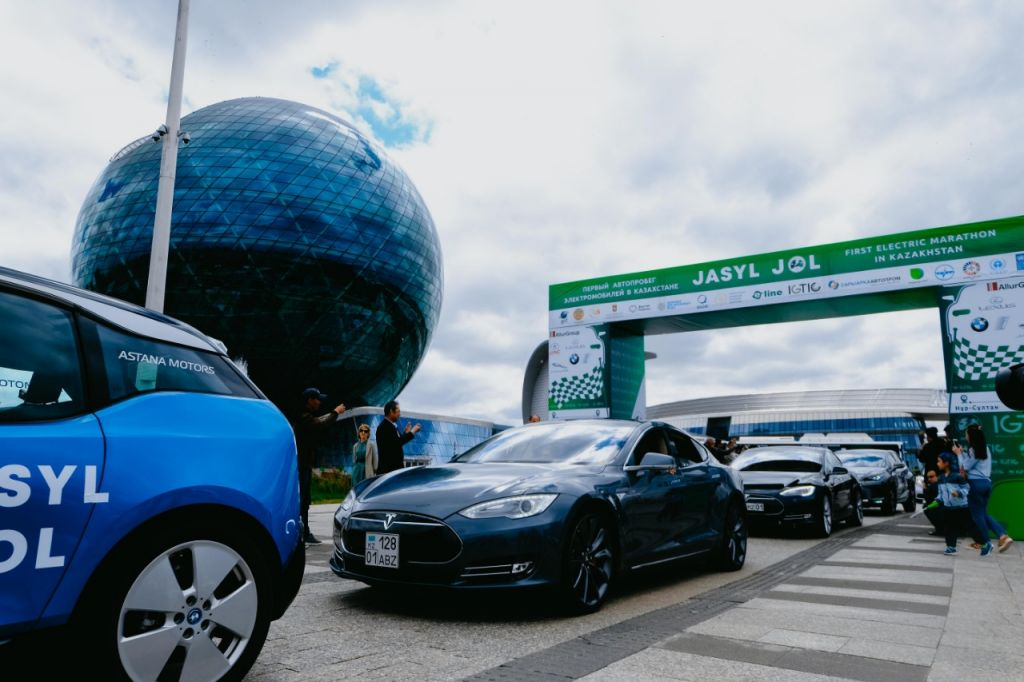 Rally Motor Credit >> Kazakhstan Marks World Environment Day With Electric Car Rally