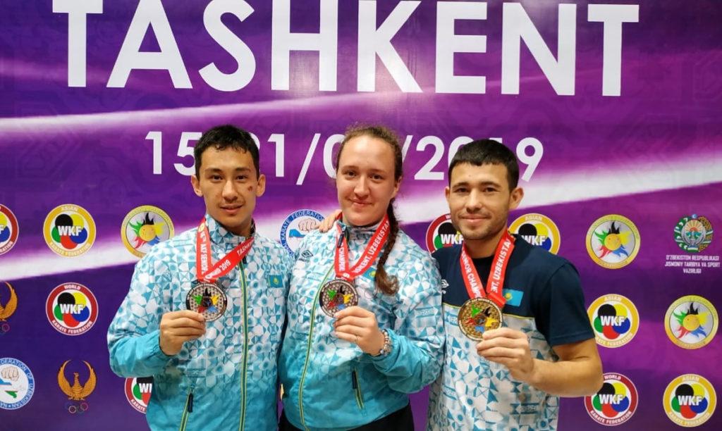 1563630264 1024x612 - Казахстанские спортсмены завоевали три медали в карате на чемпионате Азии