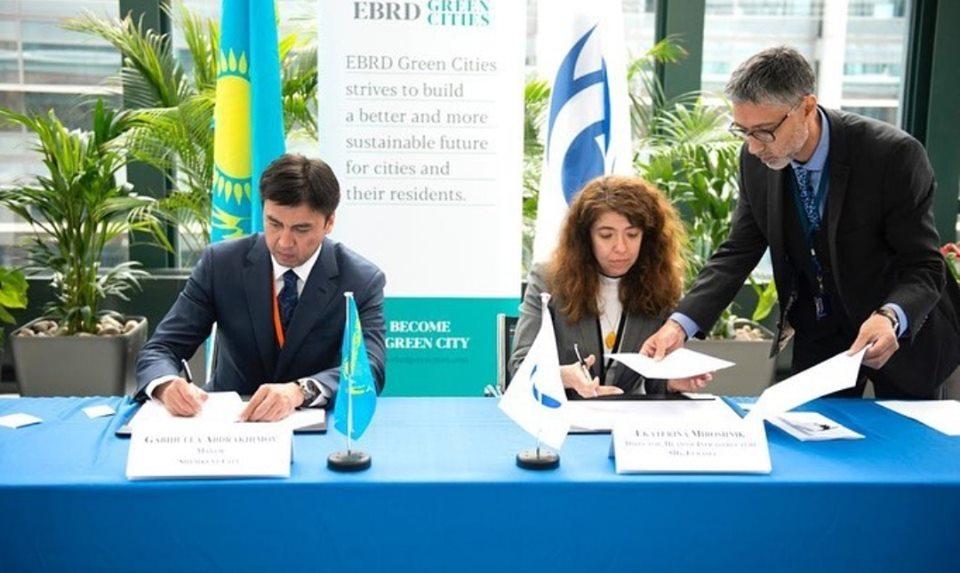 """5d36d345e5eaa - Шымкент станет 31-м городом присоединиться к программе """"зеленых"""" городов ЕБРР для городской устойчивости"""