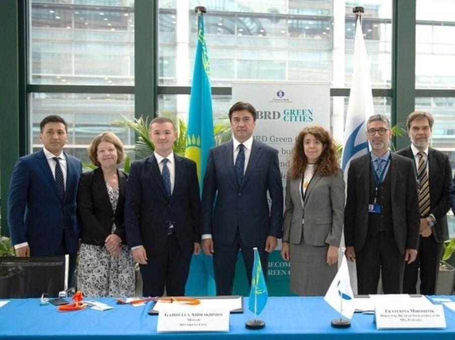 """5d36d352d1fed - Шымкент станет 31-м городом присоединиться к программе """"зеленых"""" городов ЕБРР для городской устойчивости"""