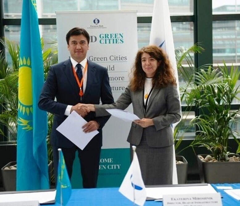 """5d3d61da1e3b3 - Шымкент станет 31-м городом присоединиться к программе """"зеленых"""" городов ЕБРР для городской устойчивости"""
