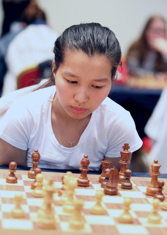 Assel Serikbai - Игроки казахстанских шахматах выиграть 2019 Азии среди юниоров медали чемпионата
