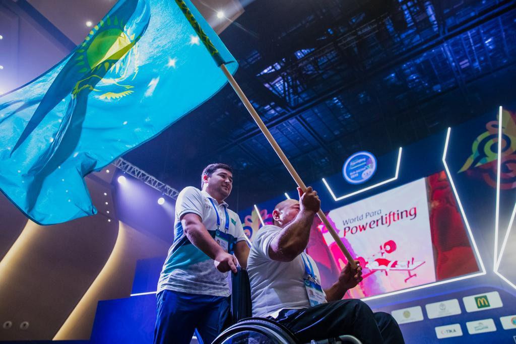 db32d805afb5a2fac80123768e9eb8d2 1024x683 - Паралимпийцы из 78 стран конкурируют за 20 золотых медалей на пункт мира Нурсултан чемпионате по пауэрлифтингу