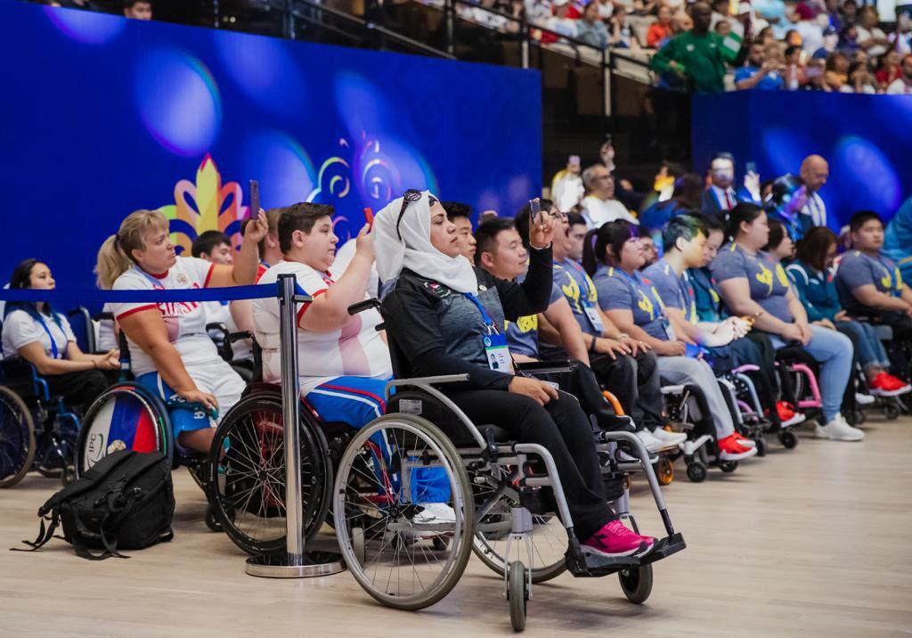 fef926085e5da03e66e55e04d160b8c7 1024x716 - Паралимпийцы из 78 стран конкурируют за 20 золотых медалей на пункт мира Нурсултан чемпионате по пауэрлифтингу