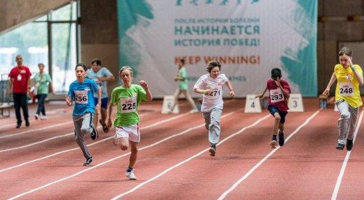 photo 286155 - Казахстанские дети завоевывать медали победителей игр для выживших рака