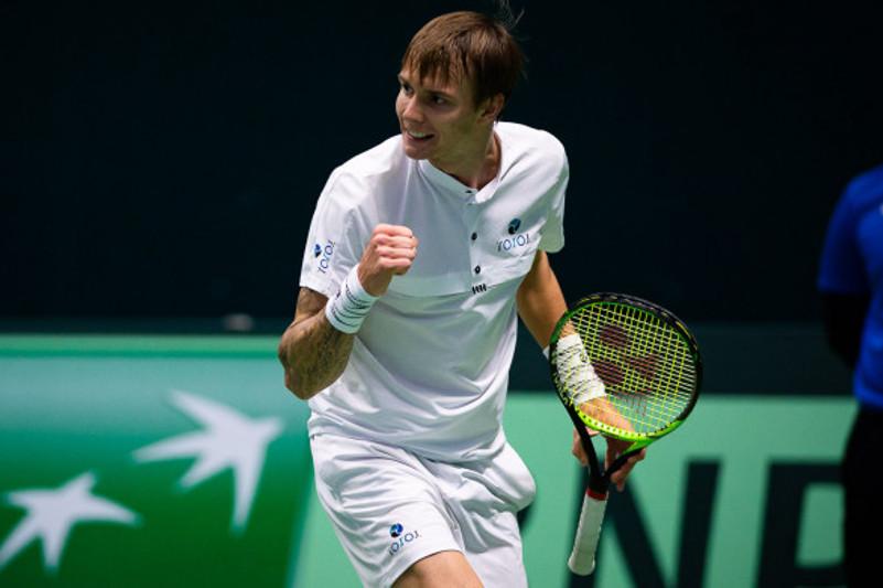 190828101215206a3560289i - Казахстанские теннисисты выиграть первый раунд турнира в США открыто