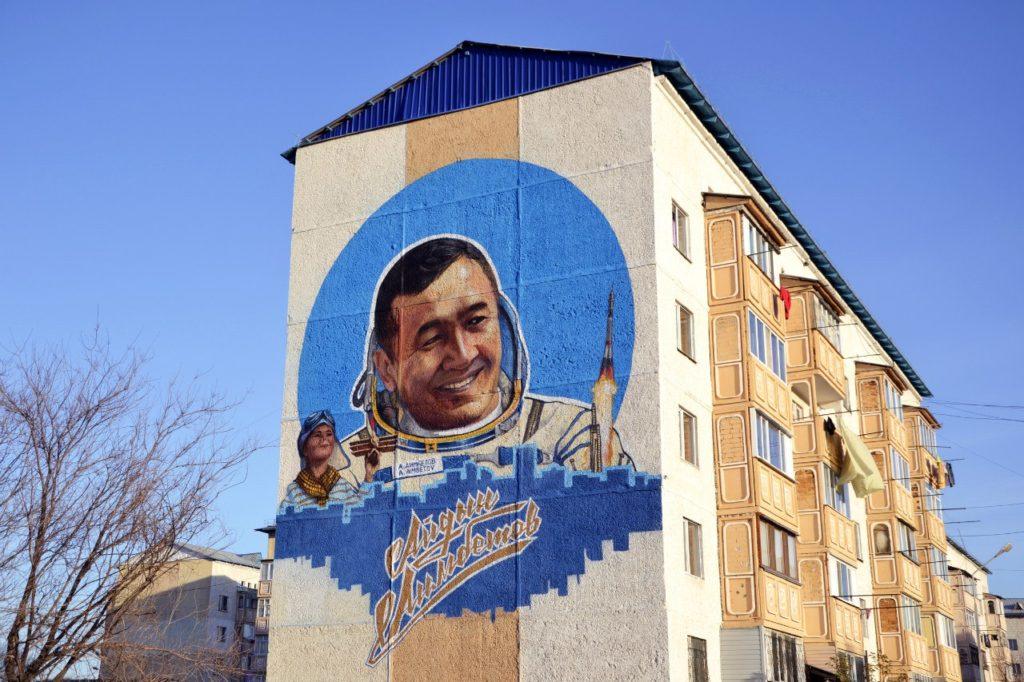 Aidyn Aimbetov 1024x682 - Алматы графитчиков привлечь внимание к казахской истории, культуры