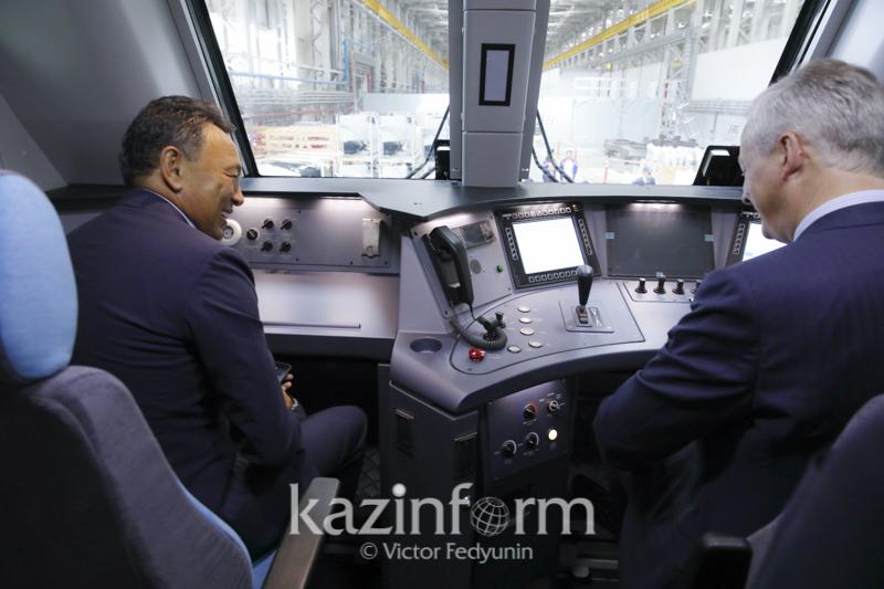 inform.kz 4 - Казахстан, Франция расширяют сотрудничество в области железнодорожного транспорта разработка