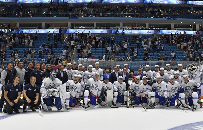 scxgwz - Барыс выигрывает пятый Кубок Президента Казахстана по хоккею