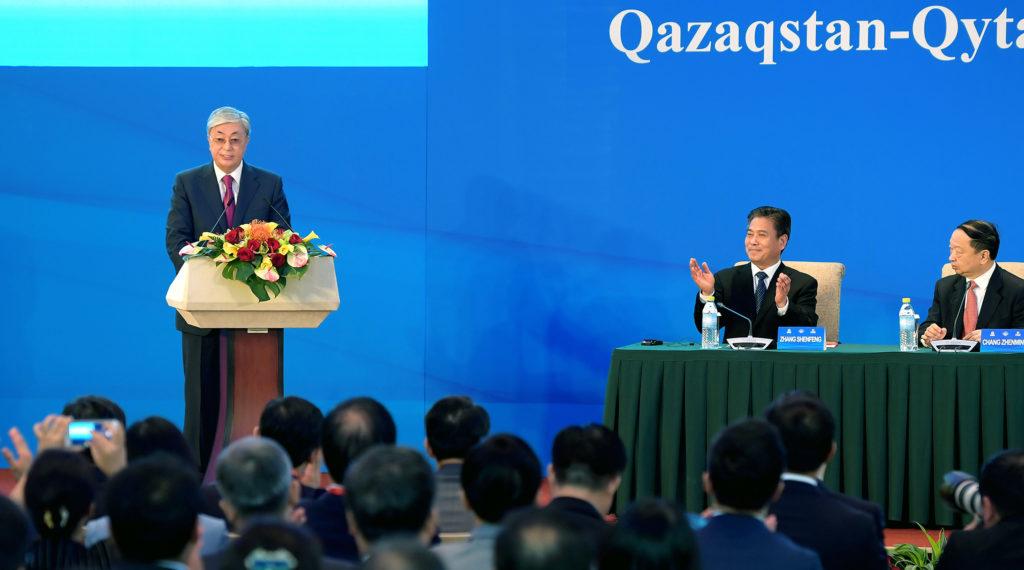 1 photo 1024x570 - Казахстан добивается высоких технологий, аграрного сотрудничества с Китаем, - говорит Токаев во время встречи в Пекине