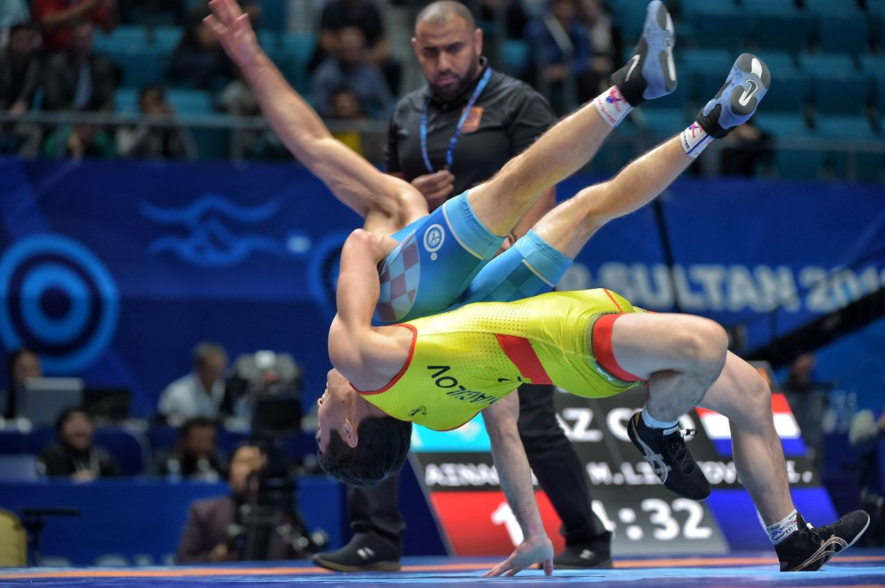 Kazakhstan Secures Two 2020 Olympic Licenses At Senior Wrestling World Championship The Astana Times