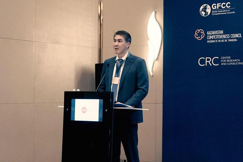 Asset Issekeshev  - Фонд Первого Президента, чтобы исследовать повышение конкурентоспособности экономики Казахстана
