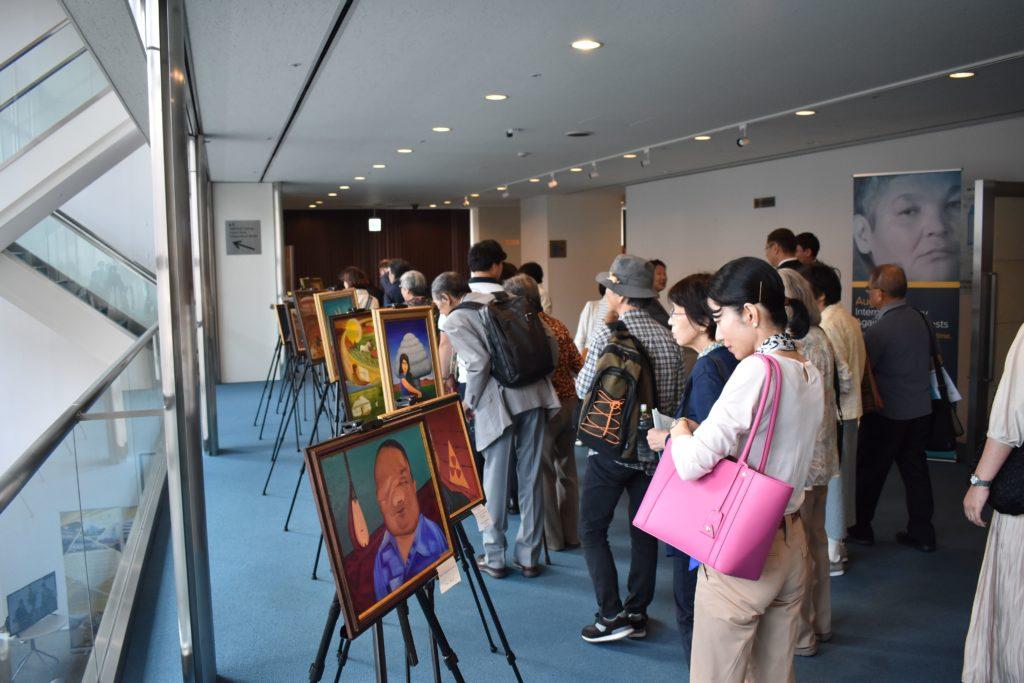 DSC 0060 min 1 1024x683 - Казахстанская анти-ядерным активистом акции произведения, нераспространения сообщение в Токио