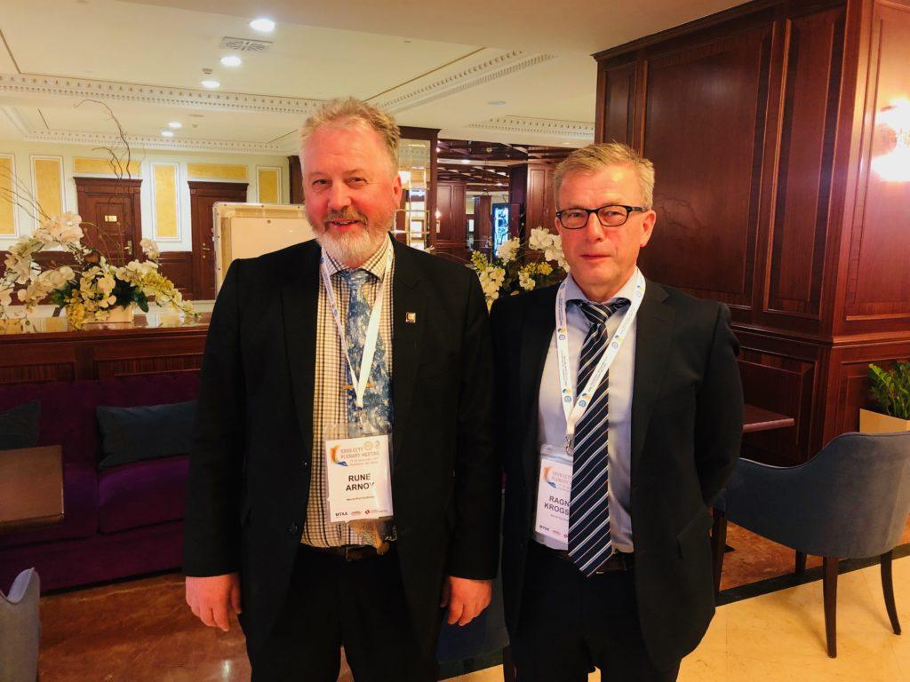 IMG 2816 1024x768 - Казахстан к сотрудничеству с портом Норвегии Нарвик в области транзитных перевозок, логистики