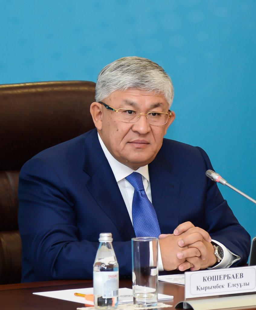 Krymbek Kosherbayev 847x1024 - Президент РК перестановки ключевых государственных и Министерство сообщения
